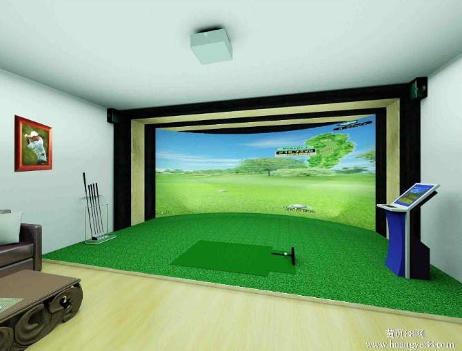 模拟高尔夫场地前期要求